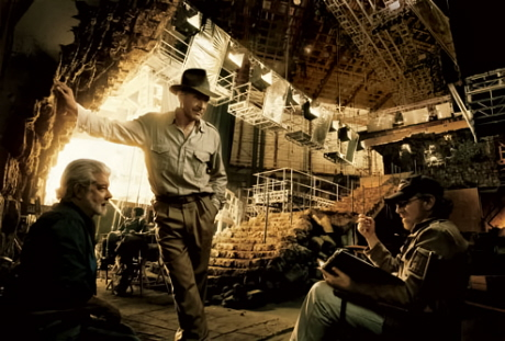 Indiana Jones Steven Spielberg George Lucas Harrison Ford
