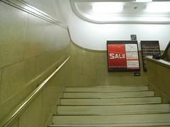 浅草松屋階段