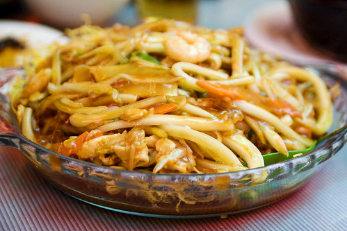 shanghai pan fried noodles