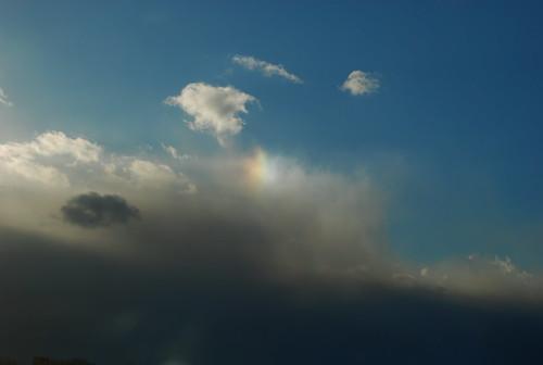a bit of a rainbow