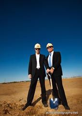 Ground Breaking Ceremony Photography - Chandler, Arizona (ACME-Nollmeyer) Tags: arizona az 1224mmf4g d200 chandler onlocation gilariver strobist acmephotographynet ackerstein ackerstone