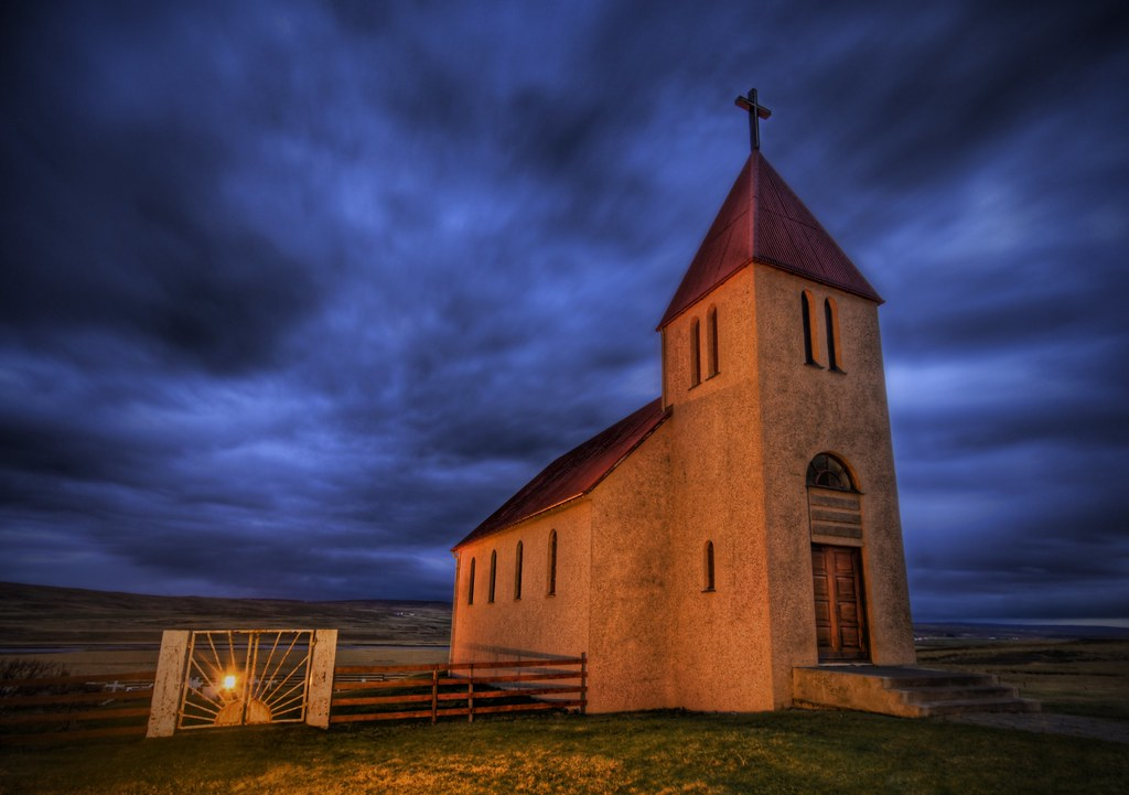 The Abaondoned Church on the Icelandic Tundra