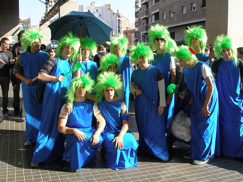 Lemmings cosplay 1