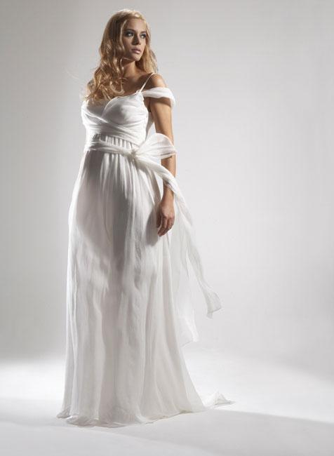 2241208165 f1861d5548 o 18 ideias de vestidos de noiva para grávidas