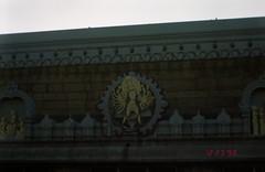 Carvings on Thirupathi temple (Jennifer Kumar) Tags: negativescan hindu balaji hindutemple tirupati andhrapradesh tirupathi thirupathi thirupati venkateshwara templeart hinduart balajitemple india1998 templecarvings