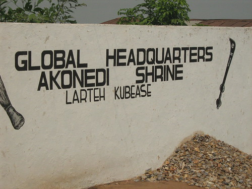 Image result for akonedi shrine ghana