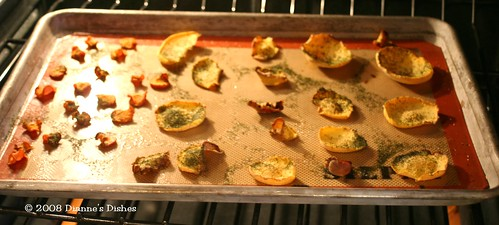 Baked Vegetable Chips With Dill