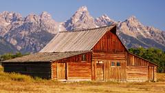 Timeless Treasure (Jeff Clow) Tags: barn landscape bravo wyoming grandtetonnationalpark blueribbonwinner mormonrow moultonbarn platinumphoto anawesomeshot superbmasterpiece antelopeflatsroad onlythebestare jeffrclow