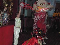 lion dance scenes