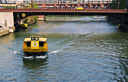 Chicago River Scene Velvia