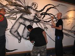 saber, david choe, & nate van dyke (ctrl-alt-esc) Tags: david painting live north nate saber awr msk van dyke 35 krush choe