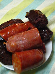 Chorizo and Morcilla