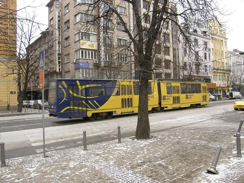 A tram in Sofia