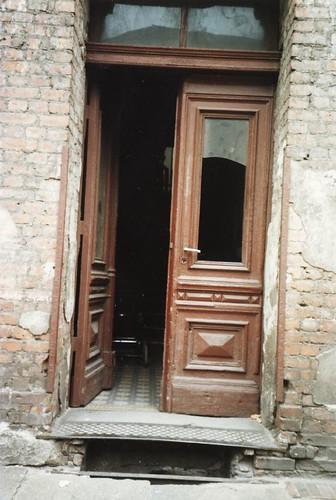Doorway in East Berlin 1990