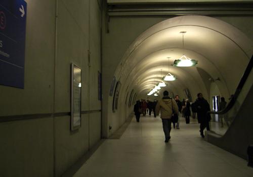 Couloir RER