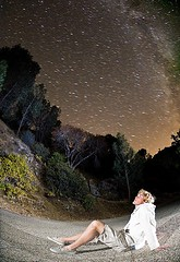 Gunnar Brewer Star Gazing (Eric Wolfe) Tags: california portrait usa nature stars landscape outdoors unitedstates relaxing science kern astronomy nightsky forests starrynight stargazing milkyway original:filename=200708120188jpg