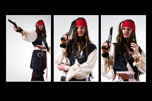 Pirates des Caraïbes Jack Sparrow Cosplay