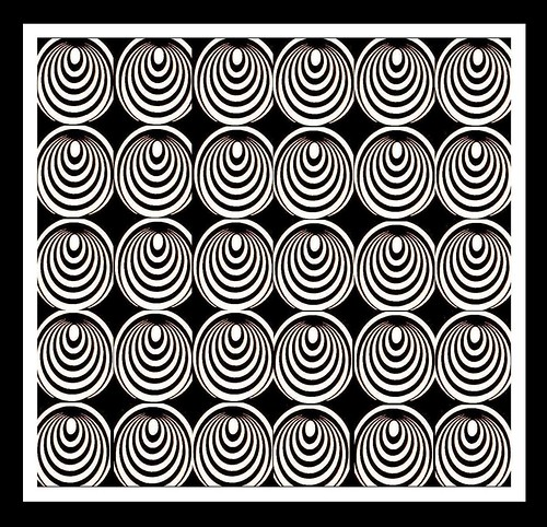Op Art Composition #5 by David Lewis-Baker.