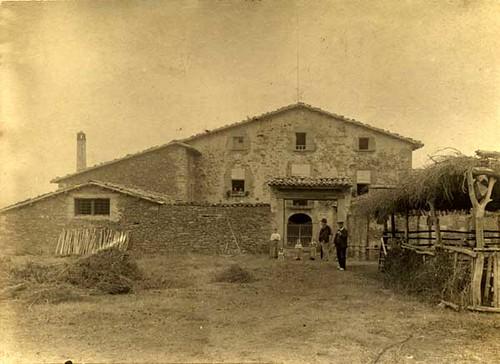 El Vilar, a principis del segle XX