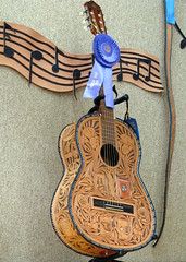 100 Things to see at the fair #27: Leather Guitar