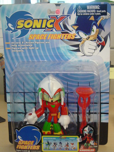 Sonic X Space Fighters -- Knuckles Figurine