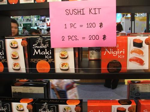 THAIFEX 2009-Sushi kit