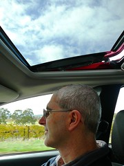 Driving In the Barossa