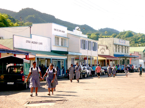 The main street, Beach St, Levuka
