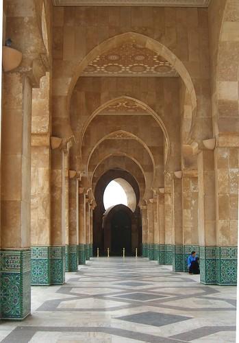 Morocco Mosque in Casablanca