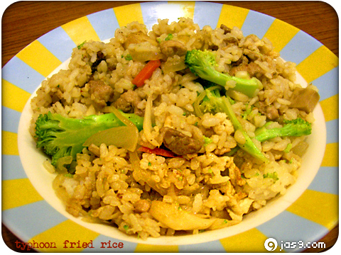 typhoon fried rice
