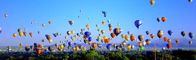 Ballooning Over Albuquerque