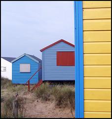 Beach Huts (James_Crouchman) Tags: beach seaside norfolk beachhuts hunstanton