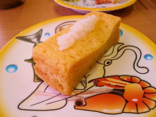 ティッシュ風 玉子寿司