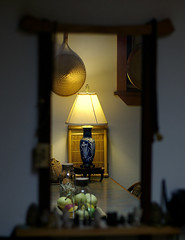 Home (bamboosage) Tags: kitchen lamp mirror soe pentaxfa5014 suprshot justpentax