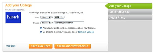 Yahoo Kickstart