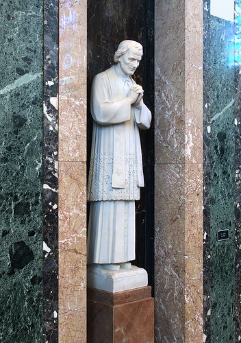Cathedral of Saint Raymond Nonnatus, in Joliet, Illinois, USA - Saint John Vianney.jpg