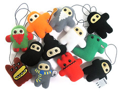 Ninjatown - Blind Box Collectibles by Shawnimals :  collectibles shawnimals ninja business ninja mr demon