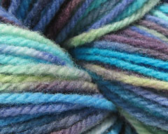 Summer Storm Worsted Rambouillet Yarn 4 oz (SK)