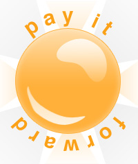 Pay It Forward logo for blog