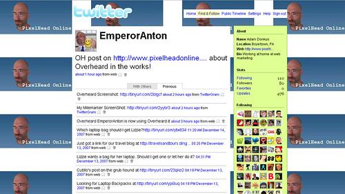 EmperorAnton's Twitter Page