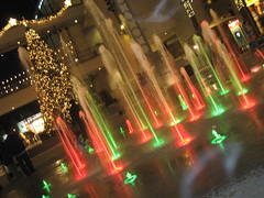 water wonderland (3) (_melika_) Tags: christmas water lights christmastree hollywood waterfountain hollywoodandhighland