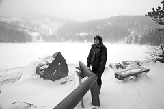 Briana at Bear Lake | Rocky Mountain National Park (ldandersen) Tags: snow ice rockymountainnationalpark frozenlake bearlake brianamowrey