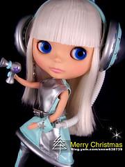 BLYTHE- Merry Christmas card