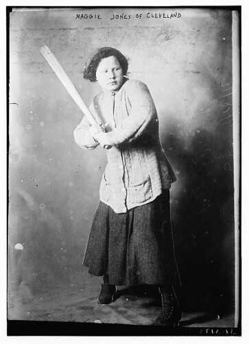 Maggie Jones of Cleveland [baseball] (LOC)