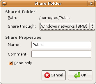 Screenshot-Share Folder