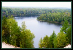 Au Sable River by lorainedicerbo