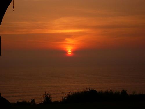 Sunset desde Larcomar