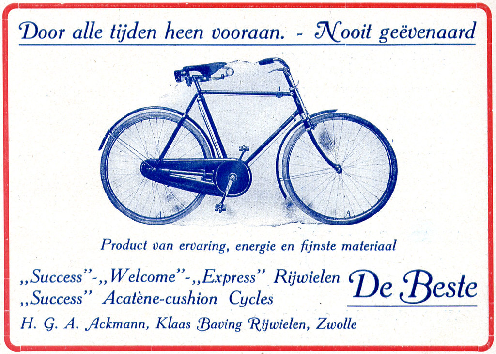 Dutch Bicycle History: Klaas Baving