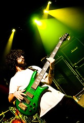 Protest The Hero - Arif Mirabdulbaghi (Chadwise) Tags: show music green rock metal newfoundland catchycolors concert bass live stjohns kezia wonderfulshot fotress protestthehero arifmirabdolbaghi mathmetal clbarmory