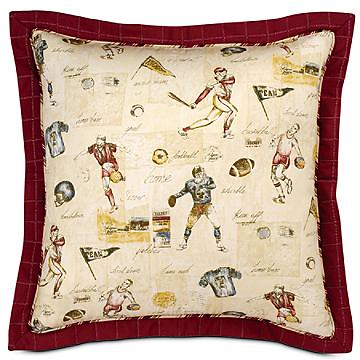 Vintage Themed Varsity Sports Bedding and Room Decor